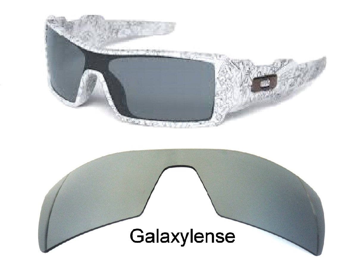 Galaxy Replacement Lenses For Oakley Oil Rig Sunglasses Titanium Polarized