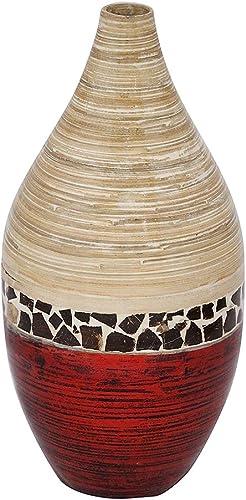Heather Ann Creations W33956-CNTMR Handspun Bamboo Vase