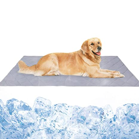 Amazon.com: Naivedream Reversible Large Pet Cooling Mat Pad ...