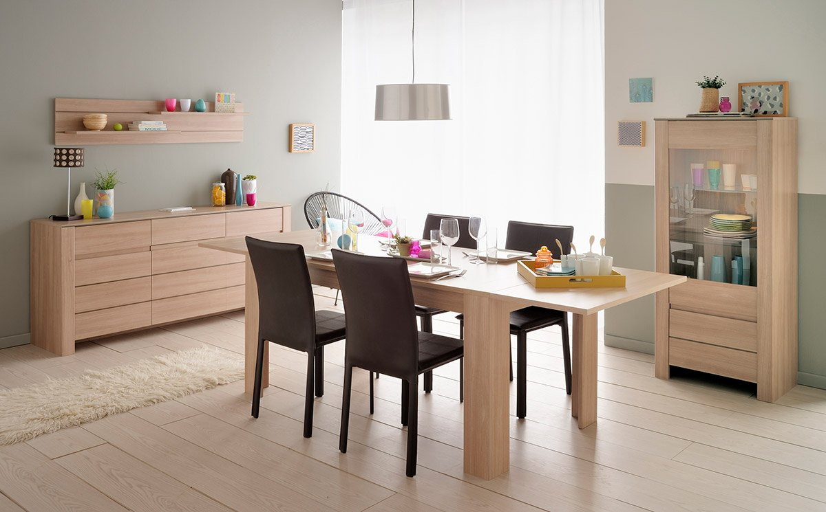 SOHO Buffet bas L180 cm décor Bruges: Amazon.fr: Cuisine & Maison
