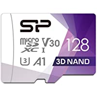 シリコンパワー microSD カード 128GB class10 UHS-1 U3 対応 最大読込100MB/s 4K対応 Nintendo Switch 動作確認済 3D Nand 【Amazon.co.jp限定】