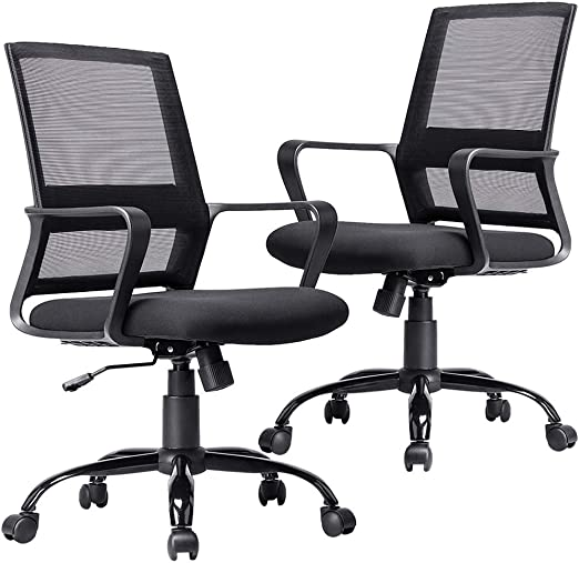 Adjustable Ergonomic Home Office Chair Desk Mesh Computer Lumbar Support New