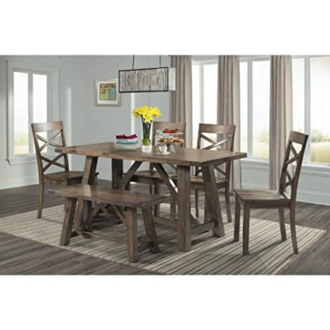 Amazon.com: Picket House Furnishings Regan Juego de mesa de ...