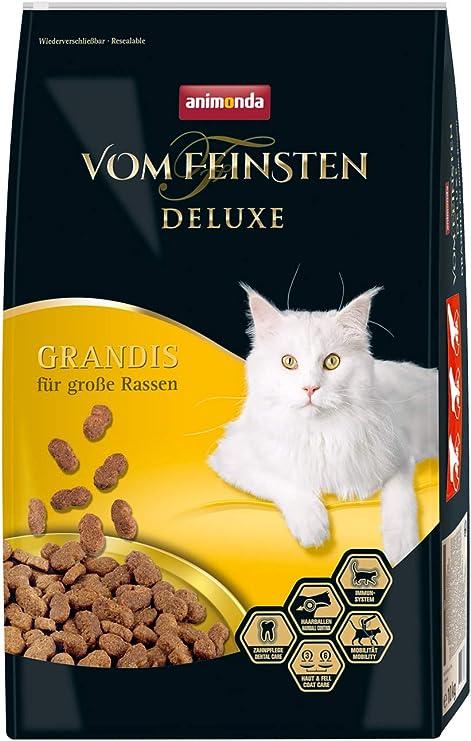Comida para gatos animonda Vom Feinsten Deluxe Adult, pienso para gatos adultos, Grandis, 10 kg