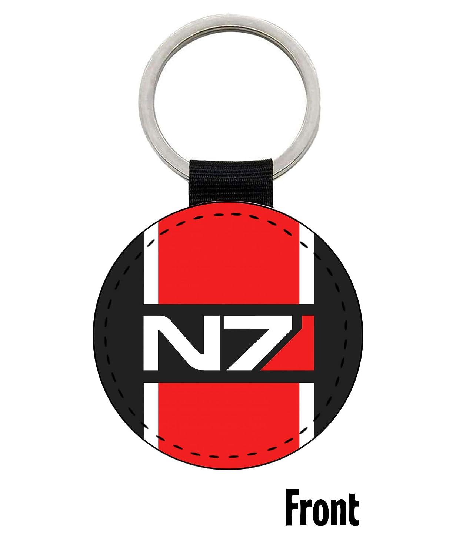 Mass Effect 3 N7 Keyring Key Rings Gifts Merchandise Gifts Merchandise Key Rings