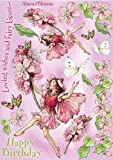 Crafter's Companion Flower Fairies Friends Unmounted Cling Rubber Stamps: Almond Blossom