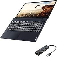 "Lenovo IdeaPad S340 Touchscreen Laptop, 15.6"" Full HD IPS, i7-1065G7 Quad-Core up to 3.90 GHz, 12GB RAM, 1TB SSD, 1TB HDD, Intel Iris Plus Graphics, Backlit, USB-C, RJ45 LAN, Win 10"
