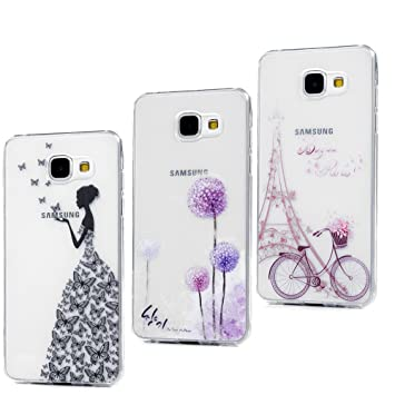 Cell Phones & Accessories Cell Phone Accessories Verre Trempé Objective Galaxy A3 Housse Etui A3 2016-2017 Coque Tpu Samsung Galaxy