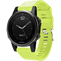 Huamecl Bands Replacement for Garmin fenix 5s / Garmin fenix 5S Plus / Garmin fenix 6S Pro,[1 Pcs],Watch band width 20mm