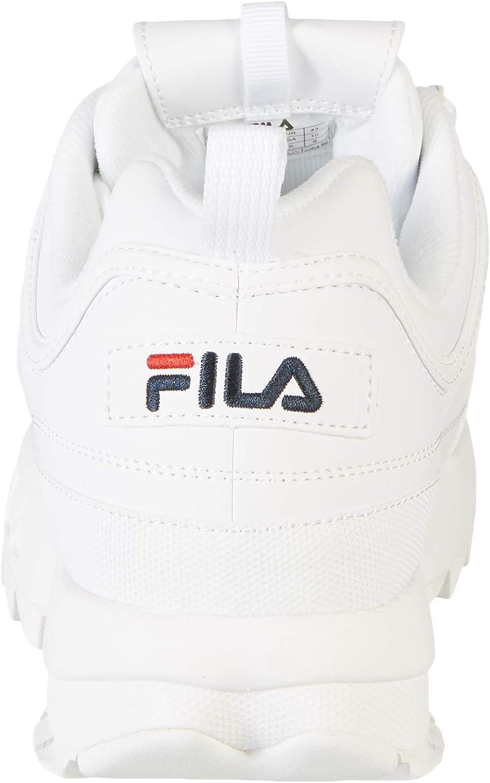 Fila Herren Disruptor Low Sneaker Weiß White 1fg