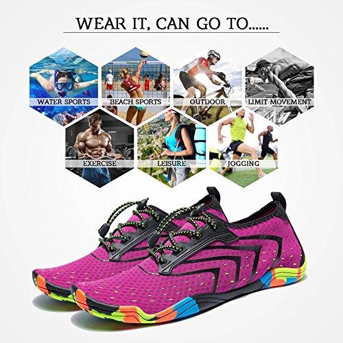 Shoes Men Swim Dry Quick Barefoot Beach Women Shoes Water MEET Flexible Unisex Lightweight qgT167C