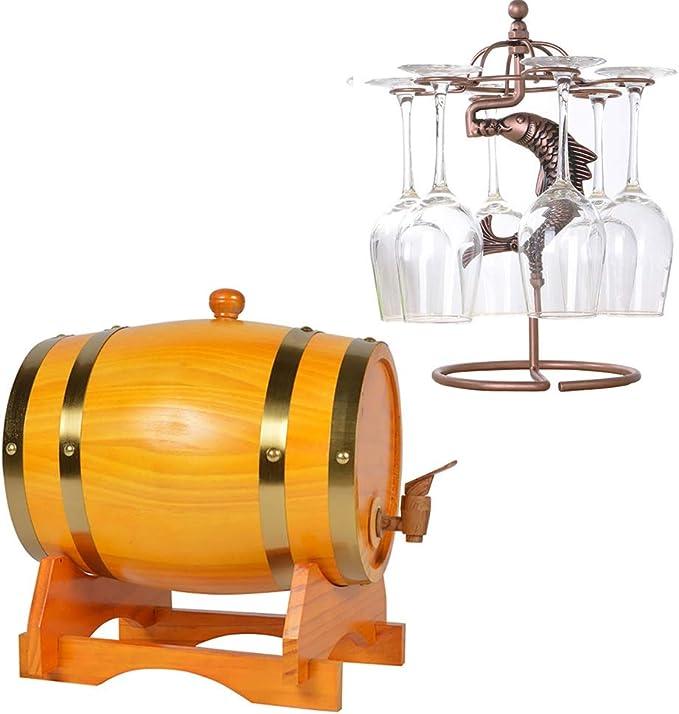 Barril Vino Decorativo Wine Spirit whisky barril de ...