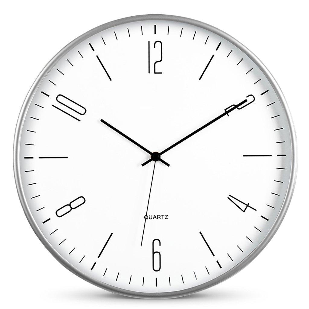 掛け時計 時計14インチファッションクリエイティブリビングルームウォールクロックモダンミニマル時計ウォールチャートミュートウォールクロック Rollsnownow (色 : C) B07BMWN1MV C C