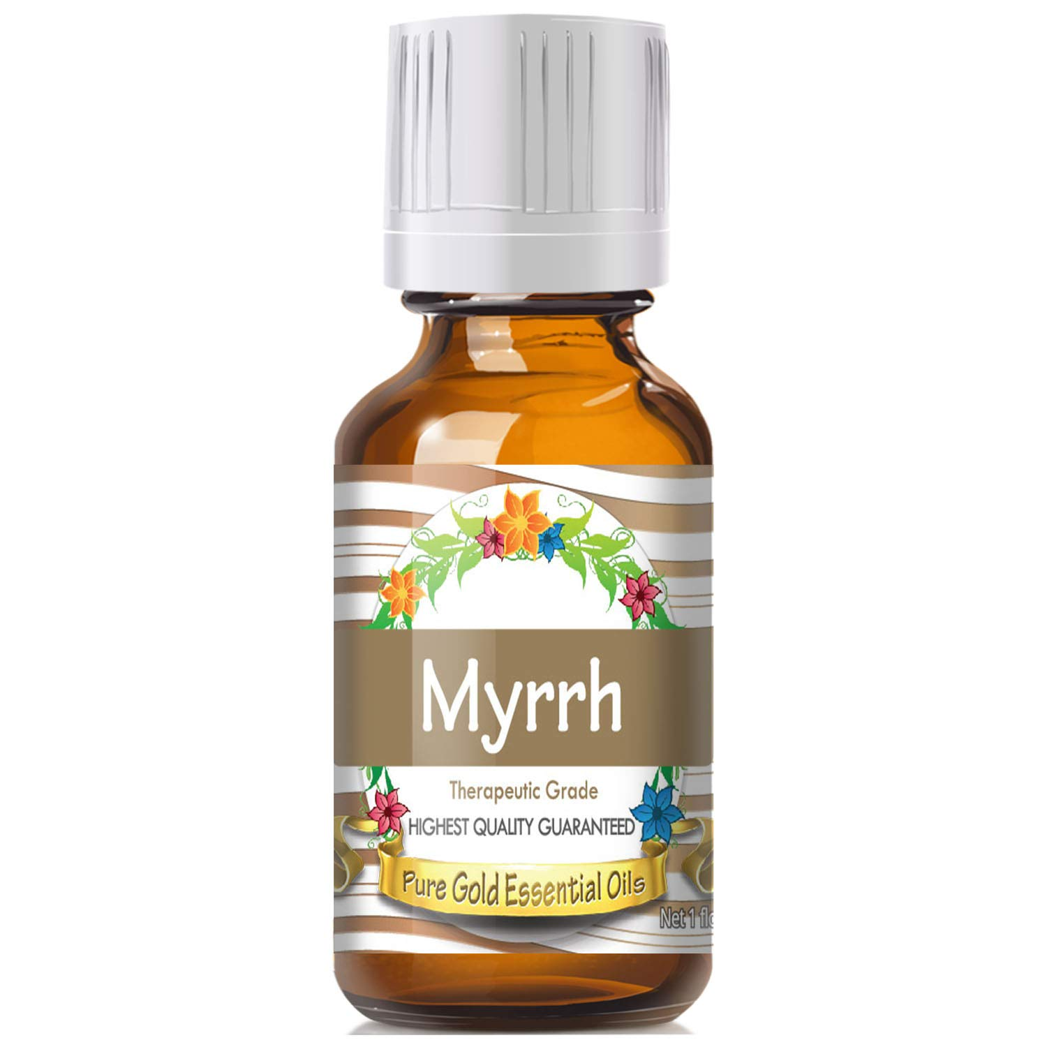 Myrrh Essential Oil (100% Pure, Natural, UNDILUTED) 30ml - Best Therapeutic Grade - Perfect for Your Aromatherapy Diffuser, Relaxation, More!