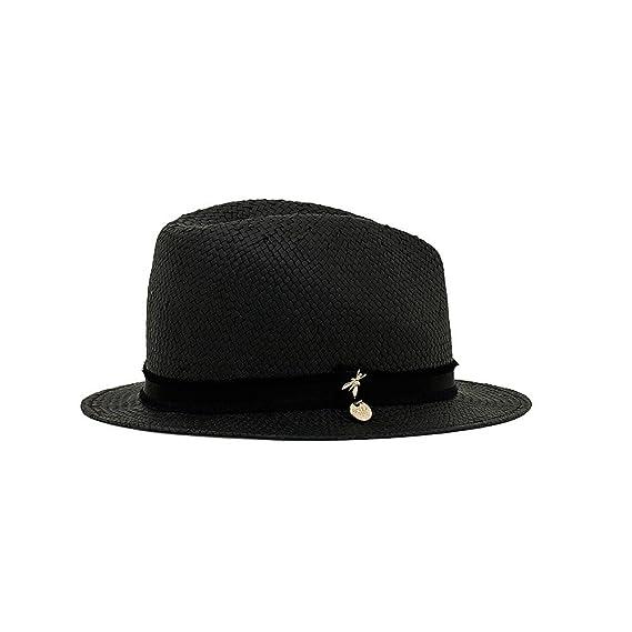 PATRIZIA PEPE Women s Bucket Hat Black black One size  Amazon.co.uk ... a61a5c6d3c6