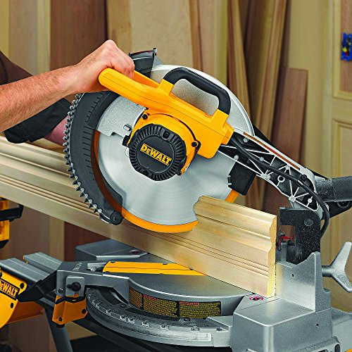 028877505756 - DEWALT DW715 15-Amp 12-Inch Single-Bevel Compound Miter Saw carousel main 3