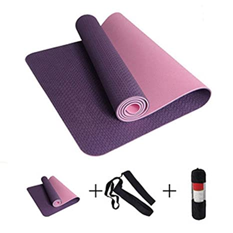 Amazon.com : Brave Rosemary 6MM No-Slip Yoga Mat TPE Sport ...