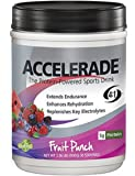 PacificHealth Accelerade, All Natural Sport Hydration Drink Mix with Protein, Carbs, and Electrolytes for Superior…