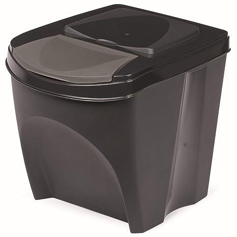Prosperplast Cubos de basura sorti Caja - Cubo de basura ...