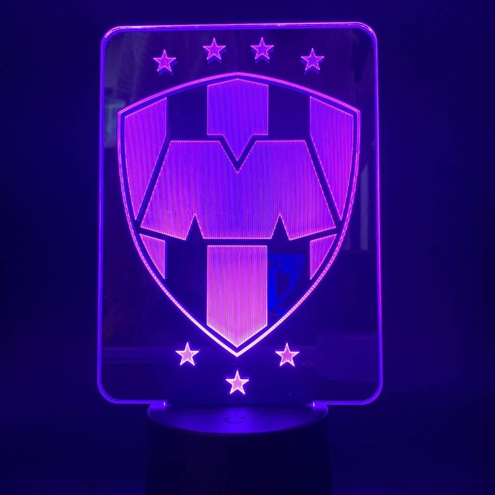 Lámpara 3D CF Monterrey México Luces nocturnas que cambian ...