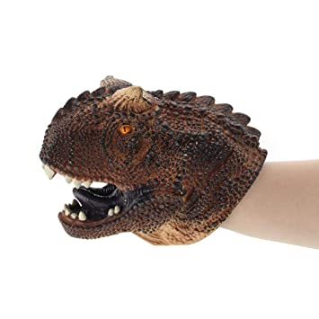 T-Rex Dinosaurier Handspielpuppe Handschuhe Realistische Rollenspiele