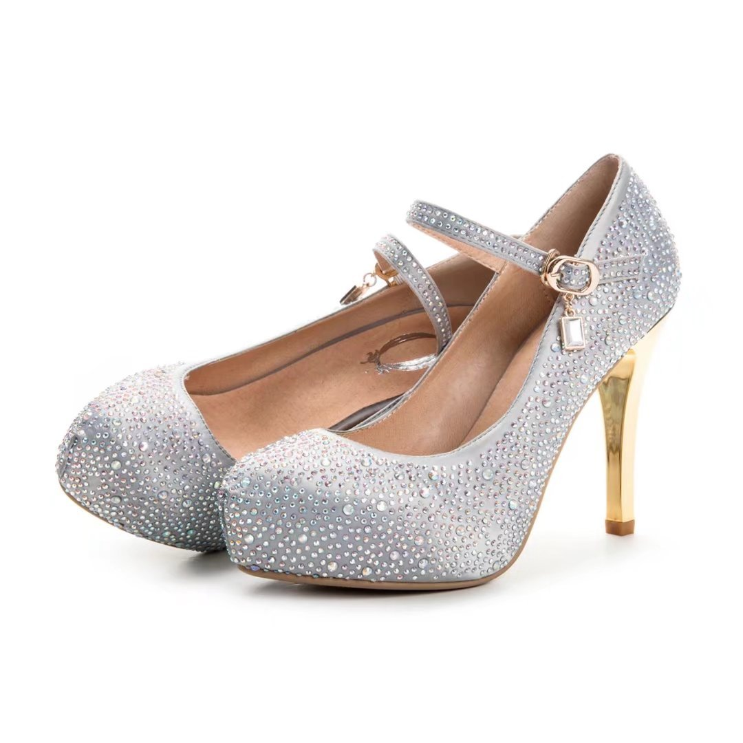 f6395f82e27869 ... VIMISAOI Party Wedding Prom Shoes Women High Heel Shoes Prom Sexy  Crystal Stiletto Pumps B077X5TV32 7 ...