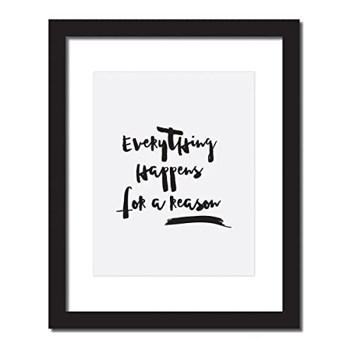 Amazoncom Motivational Poster Everything Happens For A Reason