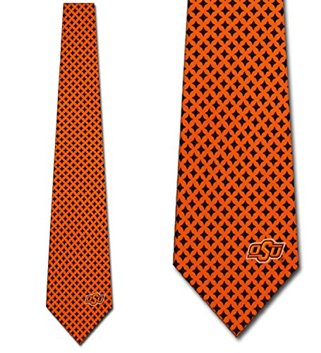 Oklahoma State Ties Mens Diamante Necktie by Eagles Wings