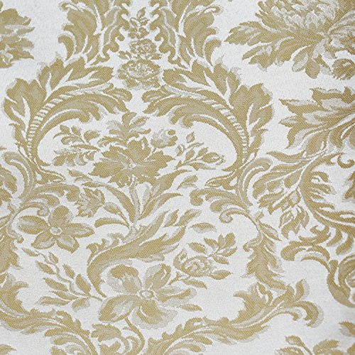 Champagne Creamy Ivory Damask Tablecloth