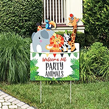 Amazon Com Funfari Fun Safari Jungle Lawn Decorations