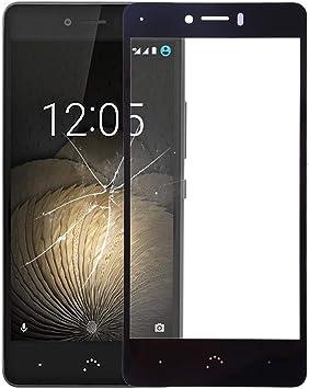 CHENCHUAN-ES Smartphone Accesorios Lente de Cristal Exterior de Pantalla Frontal para BQ Aquaris U/U Lite Teléfono móvil de Parte de reemplazo (Color : Black): Amazon.es: Electrónica