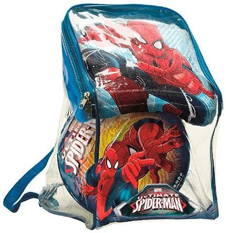 Spiderman - Mochila y conjunto para playa con toalla (Mondo 18435)