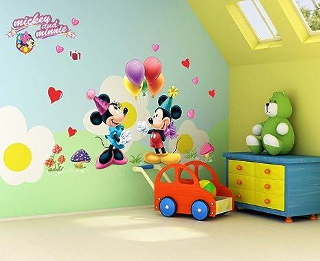 Stickers Cameretta Disney : Disney mickey mouse adesivo da parete per bambini con motivo
