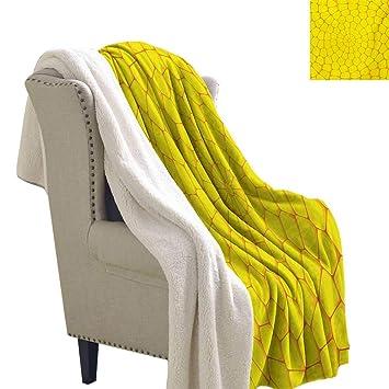 Amazon.com: Gabriesl - Manta térmica de color amarillo claro ...