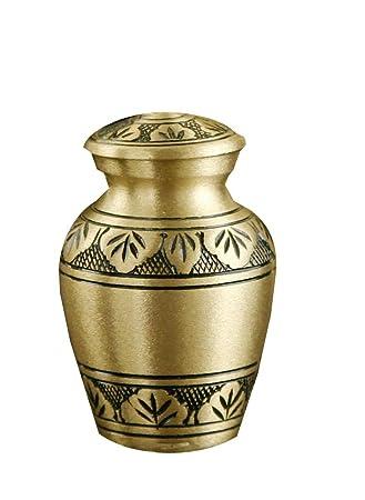 Amazon star legacys athena bronze gold brass metal cremation star legacys athena bronze gold brass metal cremation keepsake urn for human ashes w velvet solutioingenieria Images