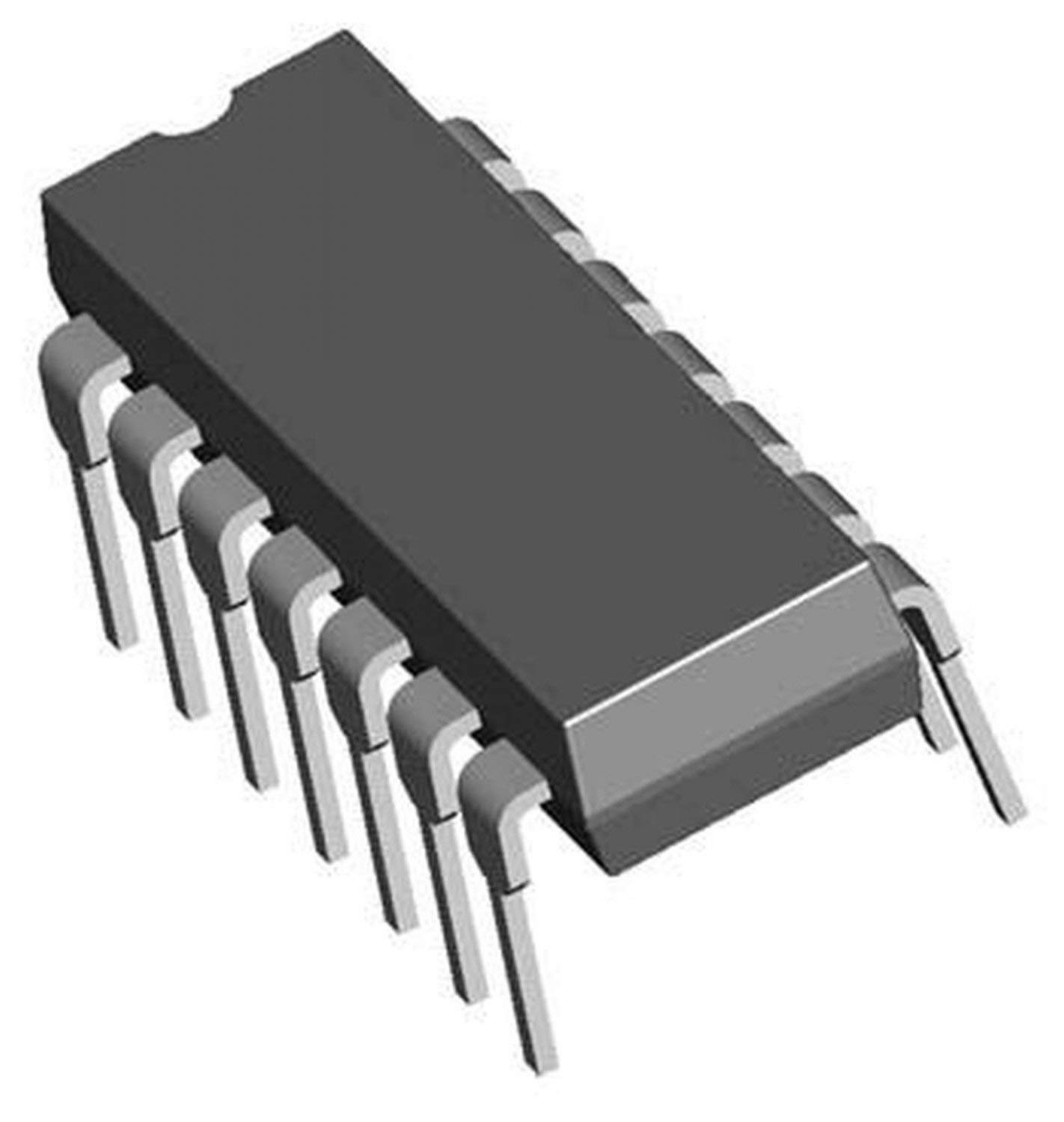 ON Semiconductor MC74ACT08NG 74ACT08 Quad 2-Input and Gate 14-Pin DIP Breadboard-Friendly Pack of 1