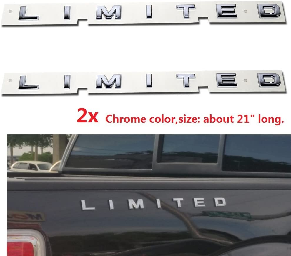 Drogo Skeleton Decals Car Sticker Emblems 3D Badge Replacement for Jeep F-150 F250 F350 Chevy Silver