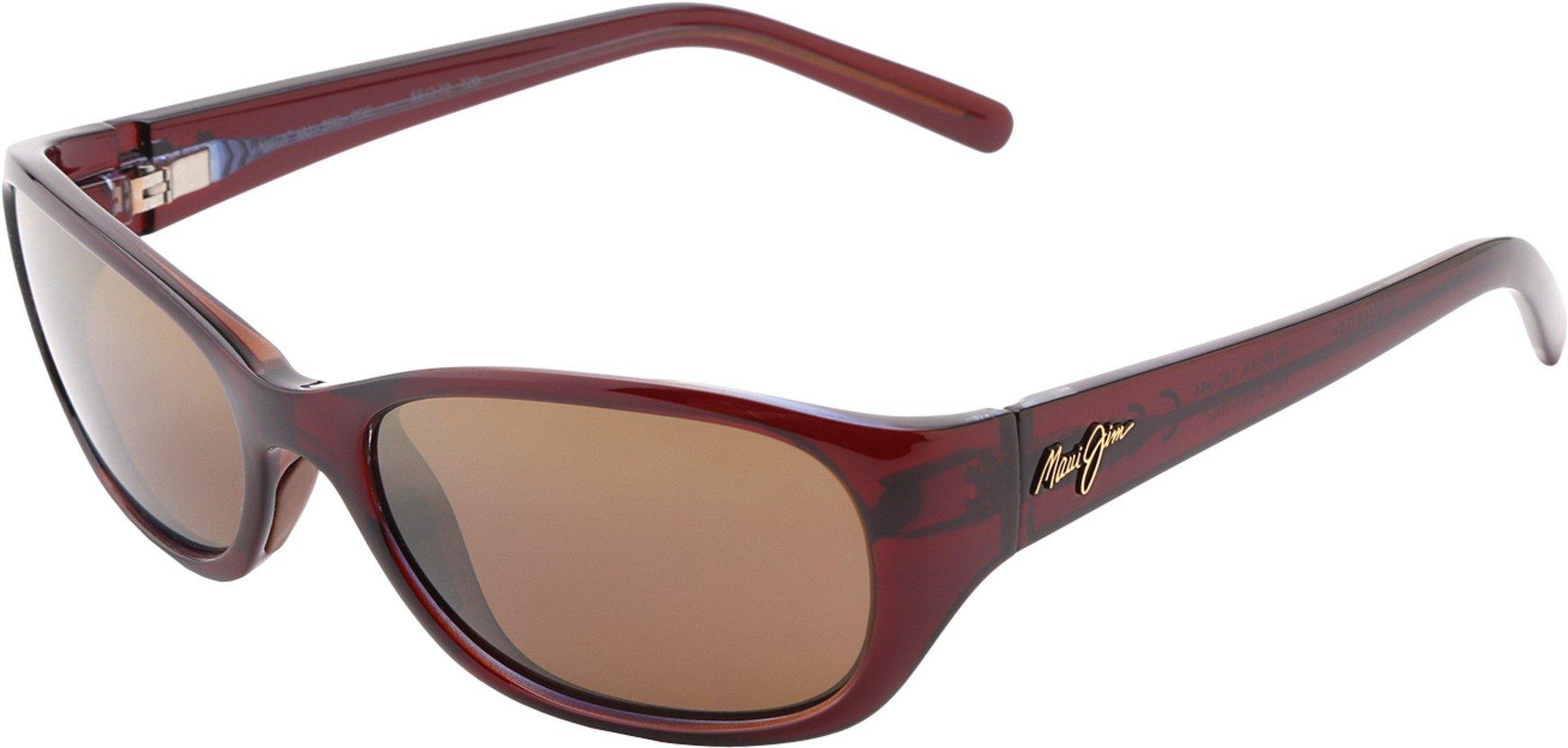 Maui Jim Sunglasses - Kuiaha Bay / Frame: Rootbeer Blue Lens: HCL Bronze