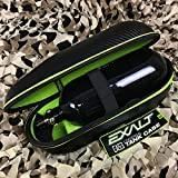 Exalt Universal Carbon HPA N2 Air Tank Hard Protective Bottle Case - Black