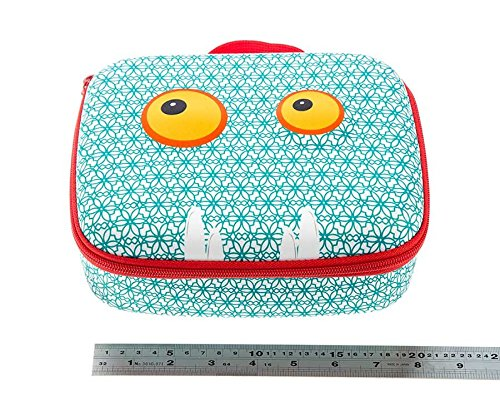 ZIPIT Beast Lunch Box, Blue Photo #6