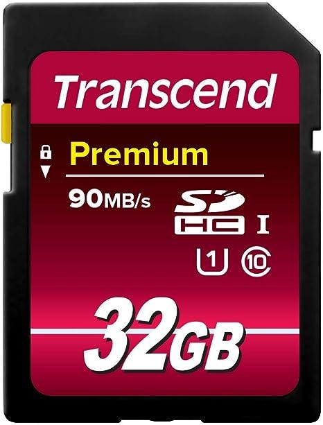 Amazon.com: Transcend TS16GSDU1 - Tarjeta de memoria SDHC de ...