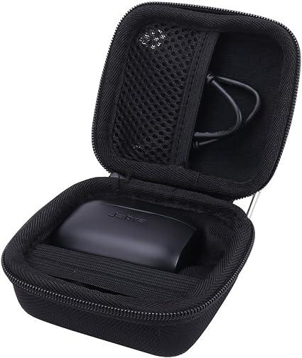 Amazon Com Hard Case For The Jabra Elite 75t Jabra Elite Active 65t Jabra Elite 65t True Wireless Earphone Headphone By Aenllosi Black Home Audio Theater
