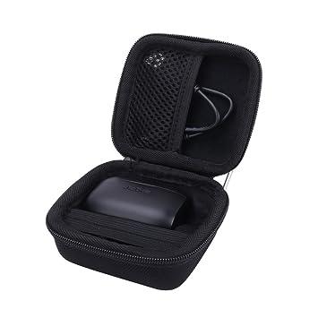 Hard Case for The Jabra Elite Active 65t | Jabra Elite 65t True Wireless  Earphone/Headphone by Aenllosi (Black)