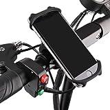 """E T EASYTAO Soporte Celular de Silicona para Bicicleta o Motocicleta Universal Bike Holder Compatible con iPhone,Samsung,Huawei,Xiaomi, Celulares con Tamaño de 4.5""""-7"""""""