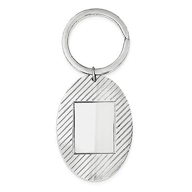 DIAMOND2DEAL INC Llavero de Plata de Ley 925.: Amazon.es ...
