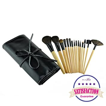 Image Unavailable. Image not available for. Color  Makeup Brush Set with Bag  Organizer Case   Cosmetics Brushes Applicators ... 563d6c4f94dd0