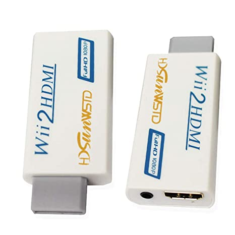 Amazon.com: Wii a HDMI 1080P Convertidor Wii2HDMI adaptador ...