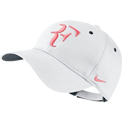 15c175285f9 Image Unavailable. Image not available for. Color  NIKE Men-Women s Roger  FEDERER  quot RF quot  Tennis DRI-FIT Hat White