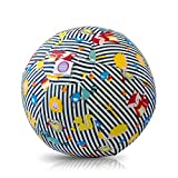 BUBABLOON Sensory Soft Cotton Balloon Cover (Animal Stripes Blue)