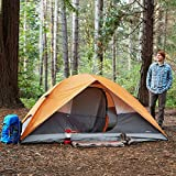 AmazonBasics 4-Person Dome Camping Tent With